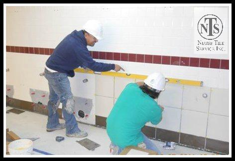 Tile-over-tile install Schnieder bath